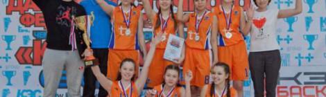 Серебро на чемпионате Дальневосточного Федерального округа по баскетболу!